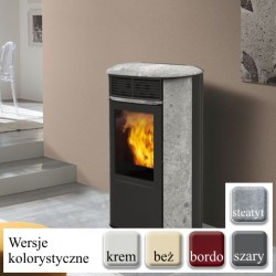 Piecyk na pellet ARIS UP PLUS 8 kW DGP - ceramika