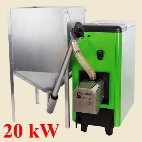 Kocioł na pellet Biomass Comfort 20kW