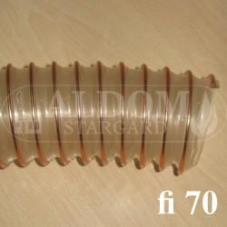 Spiro 70 rura giętka podajnika - 10 cm
