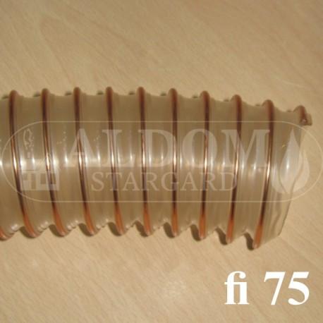 Spiro 75 rura giętka podajnika - 10 cm