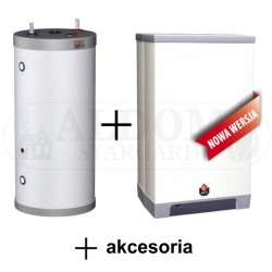 ACV Kompakt HR eco 24 Solo + wymiennik c.w. Comfort 100 + akcesoria