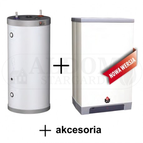 ACV Kompakt HR eco 24 Solo + wymiennik Comfort 100 + akcesoria