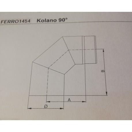 Kolano FERRO 150