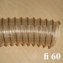 Spiro 60 rura giętka podajnika - 10 cm