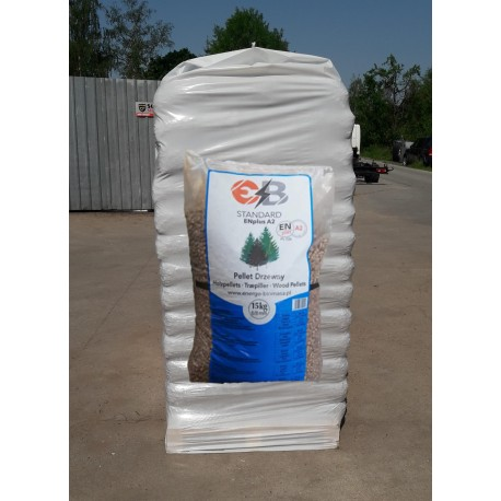 Pellet Energo - Biomasa standard - 975 kg 6/ 8 mm